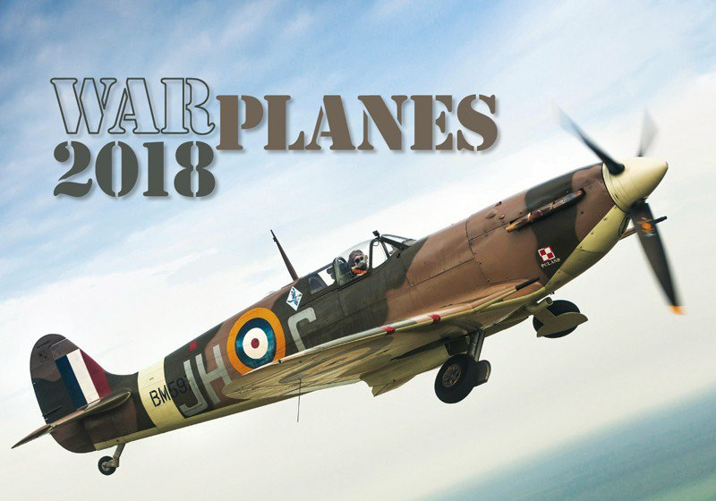 Wall calendars 2018 - Warplanes