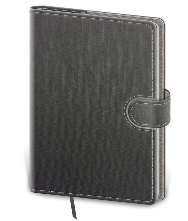 Flip - Notebook Flip L dot grid grey/grey