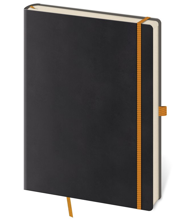 Flip - Notebook Flexies L blank black