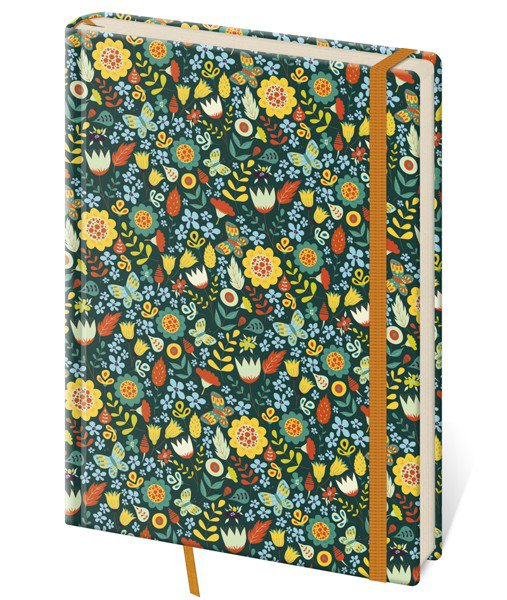 Flip - Notebook Vario L blank design 6