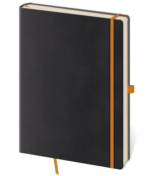 Flip - Notebook Flexies L lined black