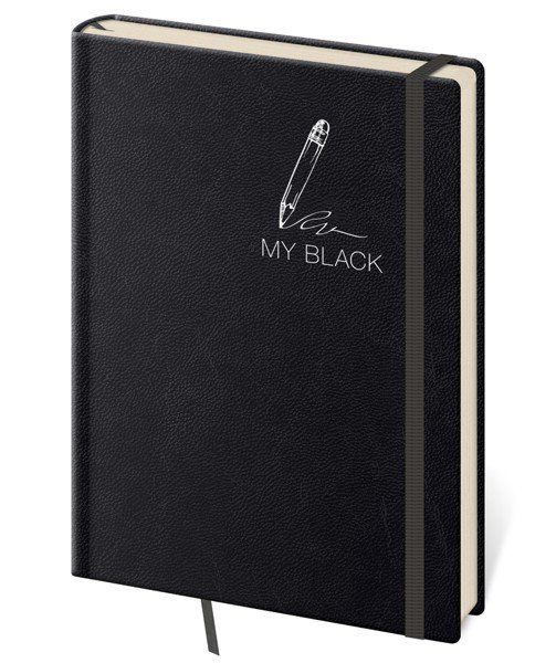 Flip - Notebook My Black S lined