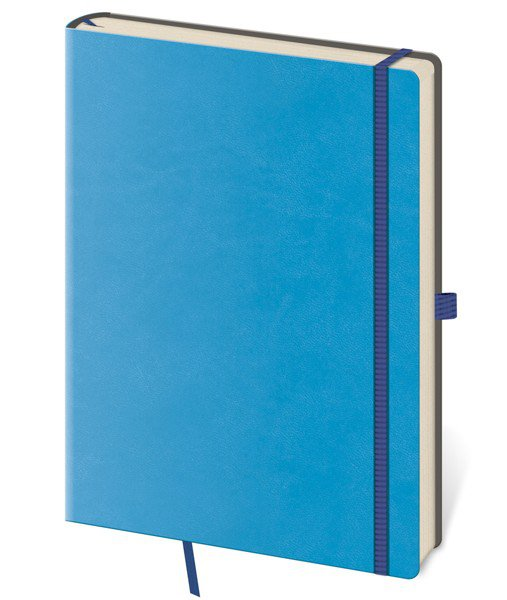 Flip - Notebook Flexies L blank blue