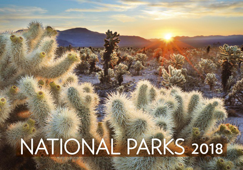 Wall calendars 2018 - National Parks