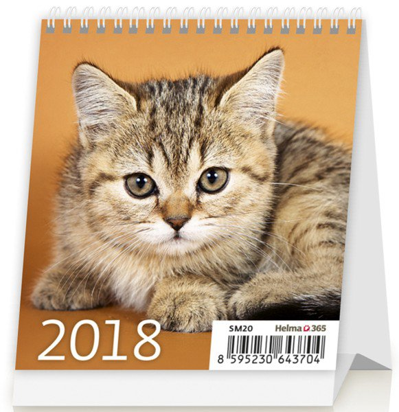 Desk calendars 2018 - Mini Kittens